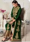 Booti Work Jacket Style Salwar Kameez - 1
