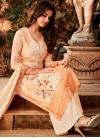 Faux Georgette Digital Print Work Palazzo Style Pakistani Salwar Suit - 2