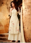 Palazzo Style Pakistani Salwar Suit For Festival - 1
