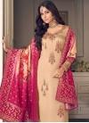 Embroidered Work Trendy Pakistani Suit - 1