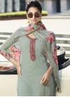 Embroidered Work Pant Style Pakistani Salwar Suit - 1