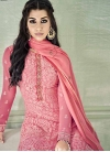 Embroidered Work Pant Style Pakistani Salwar Kameez - 2