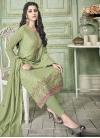 Faux Georgette Pant Style Pakistani Salwar Suit - 1