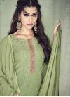 Faux Georgette Pant Style Pakistani Salwar Suit - 2