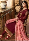 Embroidered Work Long Length Trendy Pakistani Suit - 2
