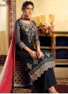 Embroidered Work Palazzo Style Pakistani Salwar Suit - 2