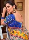 Satin Silk Embroidered Work Designer Traditional Saree - 2