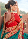 Satin Silk Trendy Classic Saree - 2