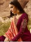 Pant Style Pakistani Salwar Kameez For Party - 1