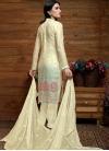 Faux Chiffon Pant Style Pakistani Salwar Suit - 1
