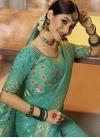 Resham Work Classic Saree - 1