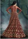 Net Floor Length Designer Salwar Suit - 1