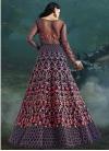 Net Floor Length Designer Suit For Bridal - 1