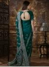 Embroidered Work Silk Trendy Classic Saree - 1