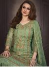Organza Pant Style Pakistani Salwar Suit - 1