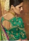Beads Work Art Silk Traditional Designer Saree For Bridal - 2