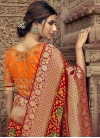 Beads Work Designer Contemporary Saree - 2