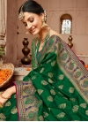 Woven Work Designer Traditional Saree - 1