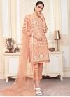 Net Pant Style Classic Salwar Suit - 1