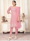 Embroidered Work Net Pant Style Designer Salwar Suit - 2