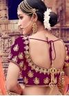 Embroidered Work Velvet Trendy Lehenga Choli - 2