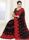 Embroidered Work Classic Saree - 1