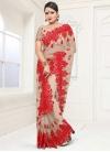 Net Embroidered Work Traditional Designer Saree - 1