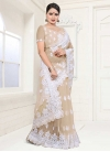Embroidered Work Designer Traditional Saree For Festival - 1