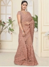 Embroidered Work Traditional Saree - 1