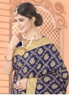 Embroidered Work Faux Georgette Trendy Classic Saree - 1