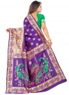 Woven Work Trendy Classic Saree - 1