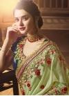 Beads Work Classic Saree - 1