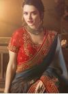 Art Silk Contemporary Style Saree For Festival - 1