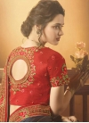 Art Silk Contemporary Style Saree For Festival - 2