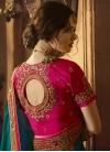 Beads Work Art Silk Designer Traditional Saree For Ceremonial - 2