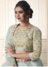 Art Silk Embroidered Work Trendy A Line Lehenga Choli - 2