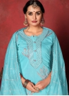 Gota Patti Work Pant Style Salwar Kameez - 1