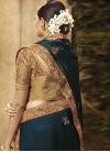 Satin Silk Traditional Saree - 1