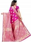 Art Silk Designer Contemporary Style Saree For Casual - 1