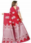 Woven Work Designer Contemporary Style Saree - 1