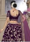 Velvet Trendy Lehenga Choli - 1