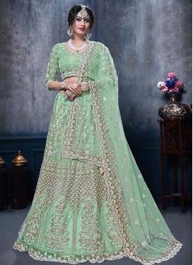 A Line Lehenga Choli For Bridal