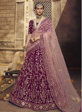 A - Line Lehenga For Bridal