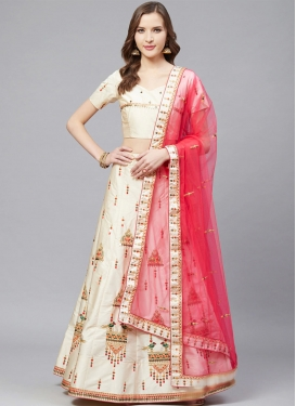 A - Line Lehenga For Ceremonial