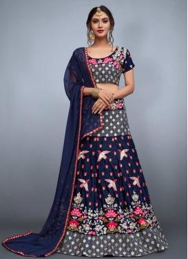 Aari Work Trendy Designer Lehenga Choli