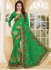 Admirable Booti Work Designer Contemporary Style Saree For Ceremonial