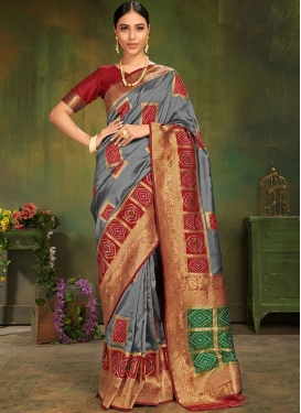 Amusing Art Silk Designer Traditional Saree
