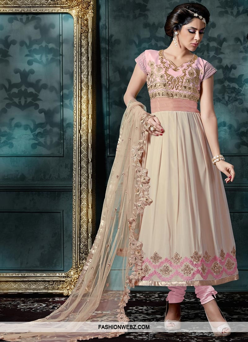 Ankle Length Anarkali Suit For Ceremonial