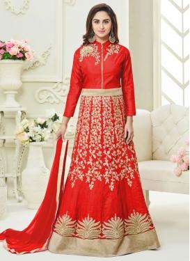 Aristocratic Anarkali Salwar Suit