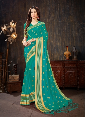 Aristocratic Weaving Art Silk Silk Saree